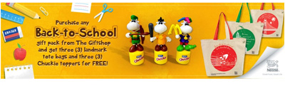 Nestle Back to School Promo