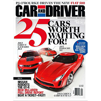 car driver us one year subscription 12 issues by emerald headway send. Black Bedroom Furniture Sets. Home Design Ideas