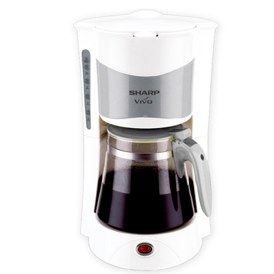 Filgifts.com: SHARP Coffee Maker KCM-193(W) (Anti-Drip System ) by Sharp - Send appliance gifts