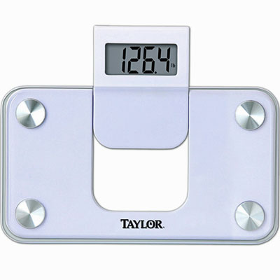 Filgifts com: Taylor Glass Digital Mini Scale with Telescopic