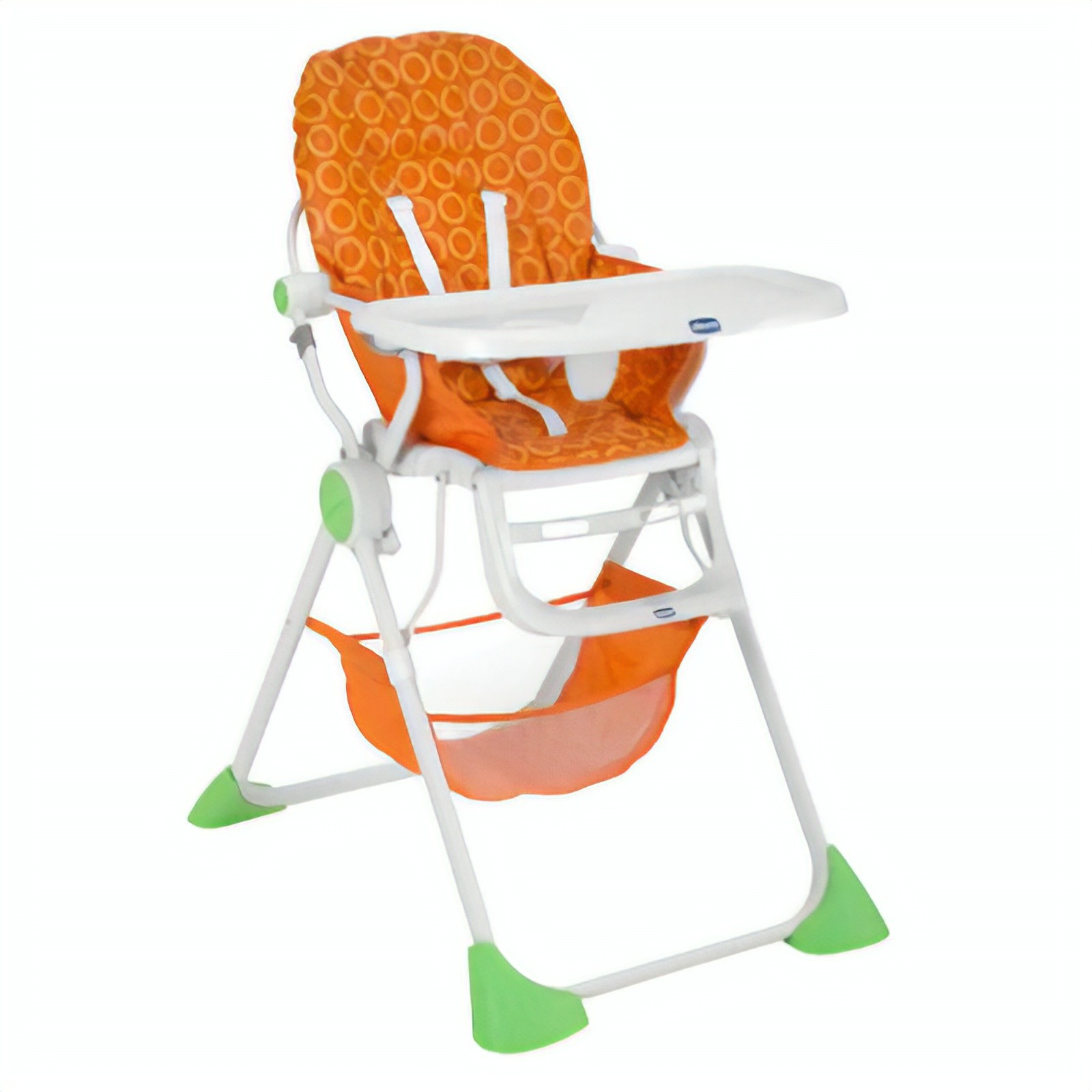Chicco Pocket Meal High Chair Lightweight and Compact for 0 to 3 Years Orange