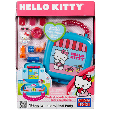 Filgifts Hello Kitty Small Case Pool Party 7MBI 10873