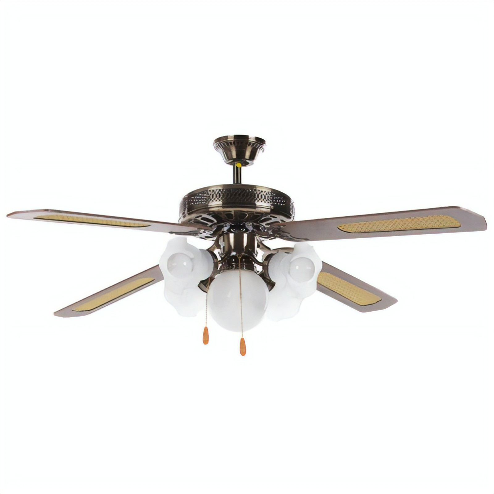 Filgifts Com American Heritage 52 Inch Ceiling Fan Antique Ahcf Econ By Send Appliance Gifts