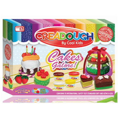 Filgifts Creadough Cakes Galore CLI 6815 By Cool Kids
