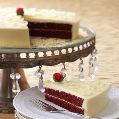 Filgifts.com: Red Velvet Cake (8-inch) by Karen\'s Kitchen - Send ...