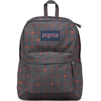 cad4155db7f9 Filgifts.com  Jansport Superbreak Printed Backpack - SHADY GREY STITCH  PLAID (JS00T5010K7) by Jansport - Send bag gifts